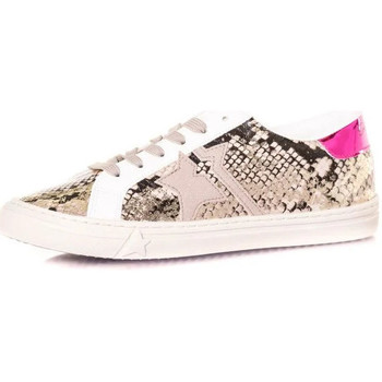 Chaussures Femme Baskets mode Kaporal MOUNA SERPENT Beige
