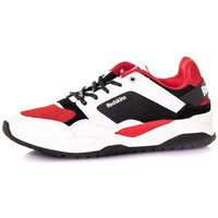 Chaussures Homme Baskets mode Chaussures Redskins MALVINO BLANC ROUGE NOIR Blanc