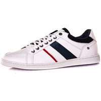 Chaussures Homme Baskets mode Chaussures Redskins IXIA BLANC+MARINE+ROUGE Blanc