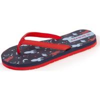 Chaussures Garçon Tongs Isotoner Sandales astronote Marine