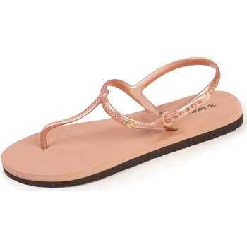 Chaussures Femme Tongs Isotoner Tongs confort Rose