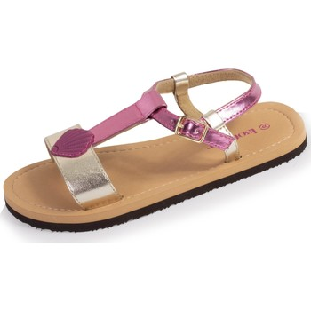 Chaussures Fille Tongs Isotoner Tongs coquillage Rose