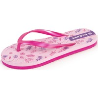 Chaussures Fille Tongs Isotoner Tongs fleurs Rose