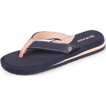 Chaussures Enfant Tongs Isotoner Sabots semelle moelleuse Marine/rose