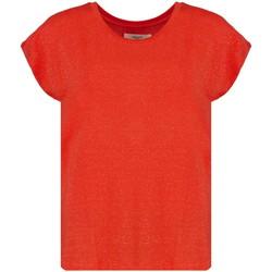 Vêtements Femme T-shirts manches courtes Deeluxe T-Shirt LINA Red Pepper