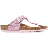 Chaussures Enfant Tongs Birkenstock Gizeh Kids Rose