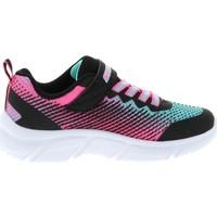 Chaussures Fille Multisport Skechers Go run 650 girly Bleu marine / bleu nuit