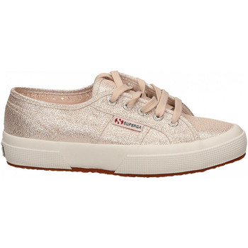 Chaussures Femme Baskets basses Superga 2750-LAMEW 941-rose-platinum