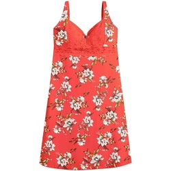 Vêtements Femme Pyjamas / Chemises de nuit Pommpoire Nuisette orange Falbala Orange