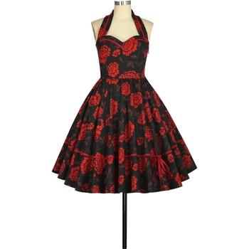 Vêtements Femme Robes Chic Star 805A0 Noir / Floral