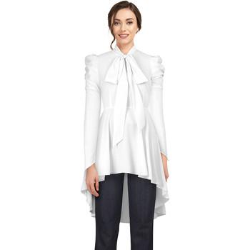 Vêtements Femme T-shirts & Polos Chic Star 60538 Blanc
