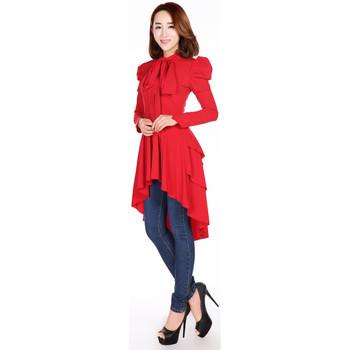 Vêtements Femme T-shirts & Polos Chic Star 60534 Rouge