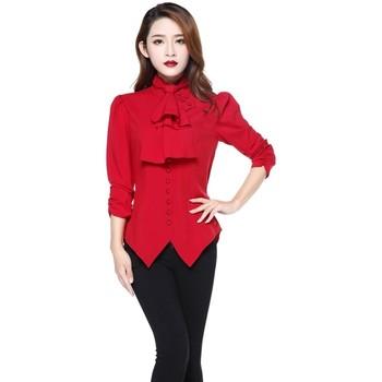 Vêtements Femme Chemises / Chemisiers Chic Star 61384 Rouge