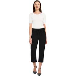 Vêtements Femme Pantalons Chic Star 83720 Noir / Stud