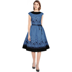 Vêtements Femme Robes Chic Star 82843 Bleu / Fleuri