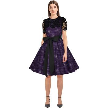 Vêtements Femme Robes Chic Star 82762 Violet / Imprimé