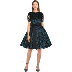 Vêtements Femme Robes Chic Star 82760 Noir / Floral