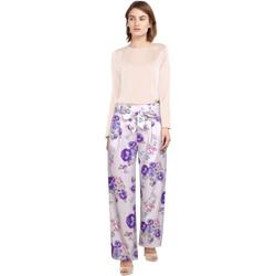 Vêtements Femme Pantalons Chic Star 82728 Blanc / Floral