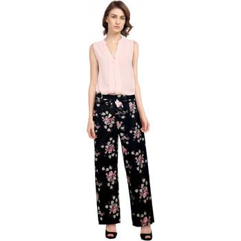Vêtements Femme Pantalons Chic Star 82720 Noir / Floral