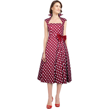 Vêtements Femme Robes Chic Star 41094 Rouge / Points