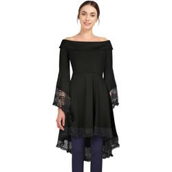 Vêtements Femme T-shirts manches longues Chic Star 79450 Noir