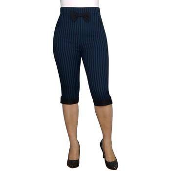 Vêtements Femme Pantalons Chic Star 826A0 Bleu