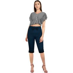 Vêtements Femme Pantalons Chic Star 82680 Bleu / Noir