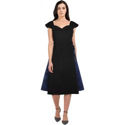 Vêtements Femme Robes Chic Star 83163 Noir / Bleu