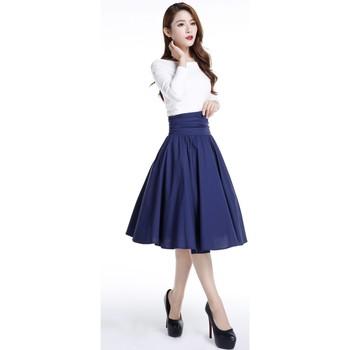 Vêtements Femme Jupes Chic Star 70583 Marine