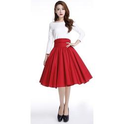 Vêtements Femme Jupes Chic Star 70534 Rouge