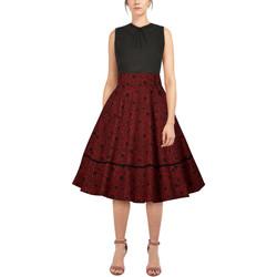 Vêtements Femme Jupes Chic Star 82654 Rouge / Floral