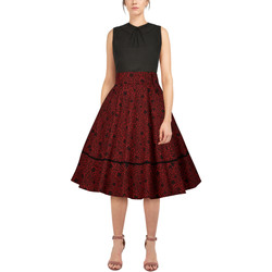 Vêtements Femme Jupes Chic Star 82644 Rouge / Floral