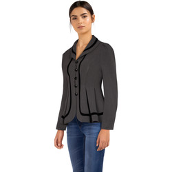 Vêtements Femme Vestes Chic Star 83597 Gris