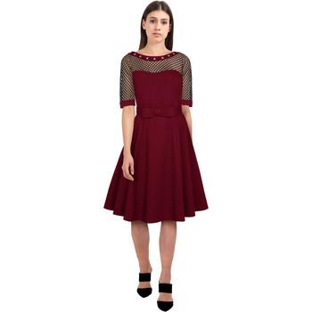 Vêtements Femme Robes Chic Star 83671 Vin / Stud