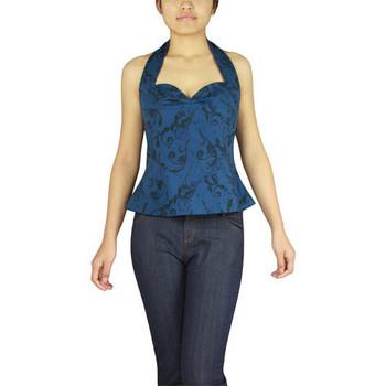 Vêtements Femme Débardeurs / T-shirts sans manche Chic Star 50953 Bleu