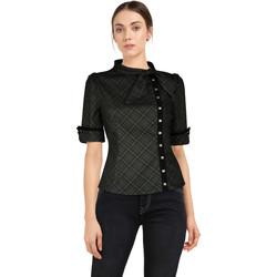 Vêtements Femme T-shirts & Polos Chic Star 83687 Grey / Stud