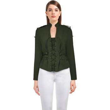 Vêtements Femme Vestes Chic Star 83505 Vert