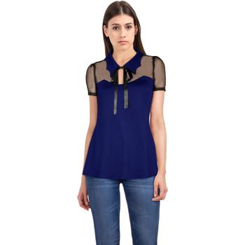 Vêtements Femme T-shirts & Polos Chic Star 83353 Bleu