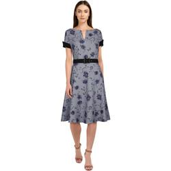 Vêtements Femme Robes Chic Star 83227 Gris / Fleuri