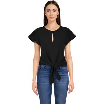Vêtements Femme T-shirts & Polos Chic Star 83070 Noir