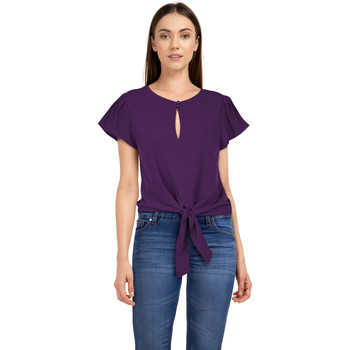 Vêtements Femme T-shirts & Polos Chic Star 83062 Violet