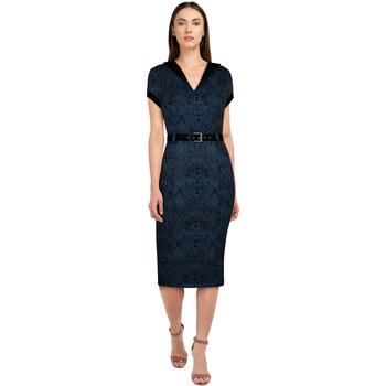 Vêtements Femme Robes Chic Star 82923 Bleu / Floral