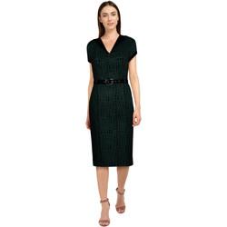 Vêtements Femme Robes Chic Star 82935 Green / Curves