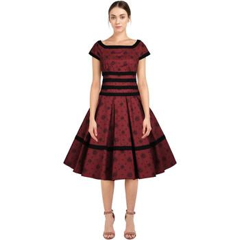 Vêtements Femme Robes Chic Star 82834 Rouge / Floral