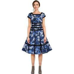 Vêtements Femme Robes Chic Star 82833 Feuille bleue