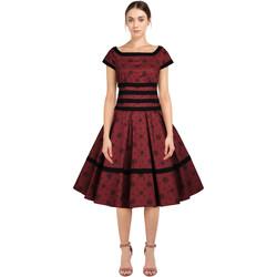 Vêtements Femme Robes Chic Star 82824 Rouge / Fleuri