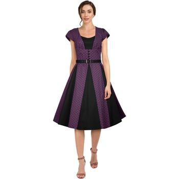 Vêtements Femme Robes Chic Star 82602 Violet / Points