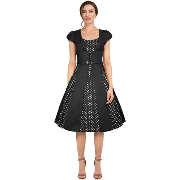 Vêtements Femme Robes Chic Star 82600 Noir / Points