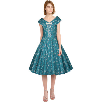 Vêtements Femme Robes Chic Star 82753 Teal / Floral