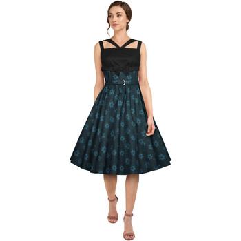 Vêtements Femme Robes Chic Star 813A3 Bleu / Floral